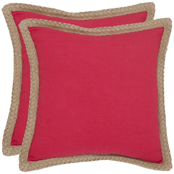 Felicia 100% Cotton Throw Pillow (Set of 2) by Bayou Breeze